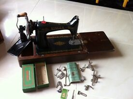 Singer sawing machine and Accessories