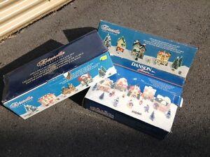 Villages miniatures de Noël