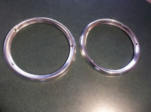1964 Ford Galaxie 500 & XL pair of tail lamp bezels London Ontario image 1