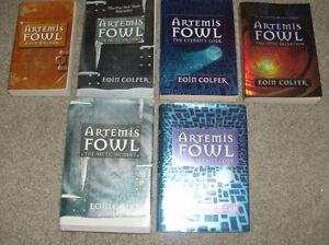 4 ARTEMIS FOWL Books-Eoin Colfer