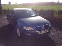 2005 Volkswagen Passat 2.0 SE TDI blue m timing belt and clutch just done 6 Speed full mot