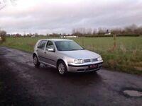 24/7 Trade sales NI Trade Prices for the public 2002 Volkswagen Golf 1.6 SE automatic silver