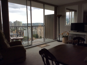Furnished west End condo for rent