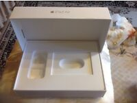 Apple iPad Air 16 Gb only box gold colour £7