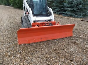 BRAND NEW 96 INCH 4 WAY HYDRAULIC DOZER BLADE FOR A SKID STEER