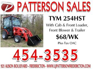 2016 TYM TRACTOR PACKAGE....