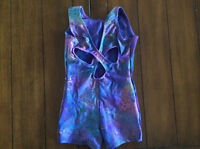Gymnastics biketard size child small $10