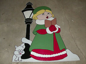 Christmas hand made lawn decorations ornaments