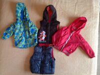 Toddler jackets 12-18 months. Bundle 16