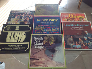 7 Record collections $20.00 each