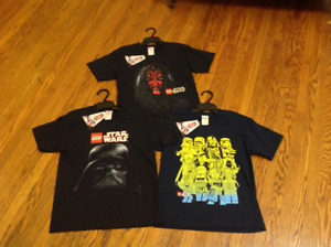 Lego Star Wars t-shirts, children's size medium. Brand new