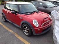 Mini cooper s (supercharged) 2003 119.000km 6000$ nego