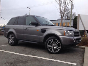 2007 Range Rover Sport SUPERCHARGED 410HP...