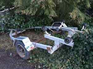 Boat trailer for 15 foot runabout