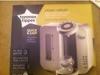 Brand new tommee tippee bottle prepare machine