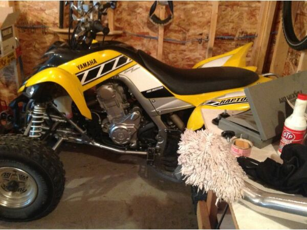 Used 2006 Yamaha Raptor 700 special edition