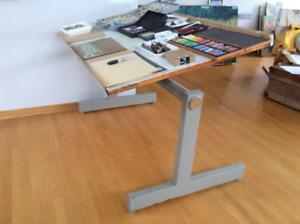 Table à dessins pour artiste
