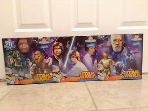 panoramic star wars trilogy puzzle Cambridge Kitchener Area image 1