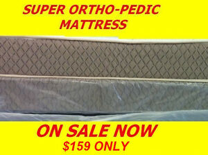 SUPER COMFY MATTRESS SALE THICK ORTHO -PEDIC FOR $159 ONLY