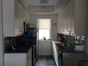 Modern 2bed furnished condo is in the heart of the city