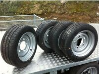 Ifor Williams trailer wheels parts Dale Kane Nugent Hudson