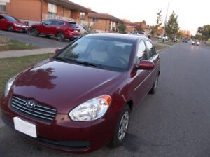 2010 Hyundai Accent GL Sedan (Safetied And Etested)