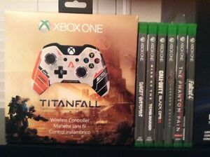 Xbox One MINT* 2 Controllers & 6 Games  Cambridge Kitchener Area image 4