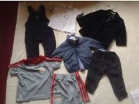 Bundle baby boy clothes 3-6/6-9 months 8 items used £4