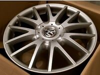 "Genuine 17"" (MK5) VW Golf GT Alloys / Great Condition"