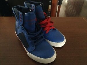 NEW Supra Skytop Shoes - men / youth size 4