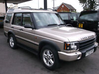 2002(02) Land Rover Discovery 2.5Td5 ( 7 st ) 2003MY ES Manual