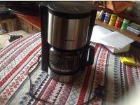 Severin coffee maker KA 4305 used £5