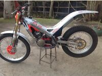Gas gas trials bike