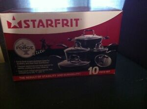 Brand new Starfrit pot and pan set