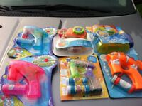 Bubble guns $7 or 3for $20