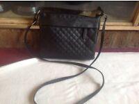 Atmosphere ladies shoulder bag used black £2
