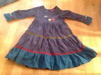 Deux par Deux - toddler girl dress - size 4T