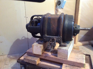 Western Electric Repultion Induction Motor SINGLE PHASE 3 hp