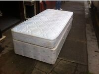 Single Divan Bed / Free Glasgow Delivery