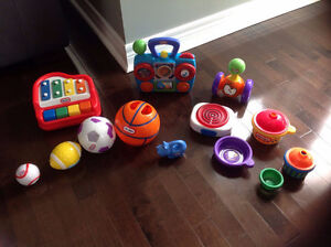 Little Tykes Infant Toddler Toy Lot **Excellent Used Condition**