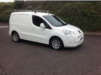 2011 Peugeot partner 1.6 HDI 850 S White motd November 16 side loading door