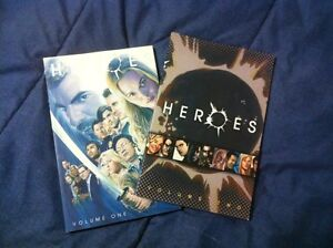 Heroes graphic novels volume  1&2
