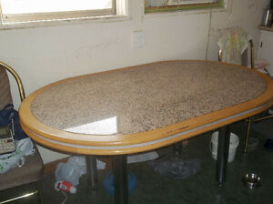 granite custom built table Edmonton Edmonton Area image 1