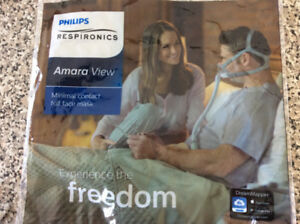 CPAP MASK-AMARA VIEW FULL FACE MASK-MEDIUM size-$125-( COST $250