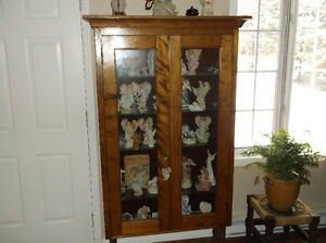 Old display cabinets
