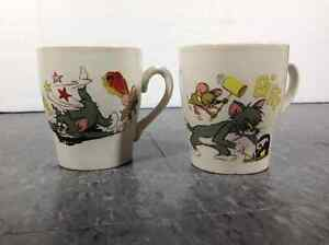1970's Tom & Jerry cups / mugs by MGM Metro Goldwyn Mayer Cambridge Kitchener Area image 1