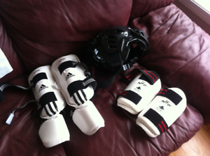 Tae Kwon Do Sparring Gear and Uniform