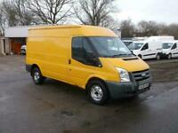 Ford Transit T350 LWB,2008 REG,YELLOW,COMPANY OWNED,YEARS MOT,TIDY VAN,NO VAT