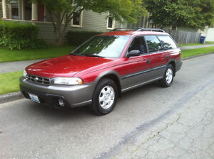 subaru legacy Outback TURBO Wagon limited 1998 ver 2 swap