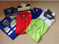Golf shirts & trousers